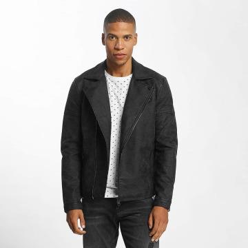 Only & Sons Кожаная куртка onsJason Biker черный