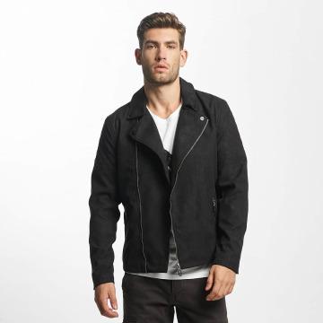 Only & Sons Кожаная куртка onsFrank Biker черный