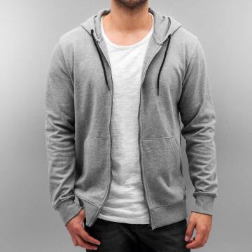 Only & Sons Hoodies con zip onsFiske grigio