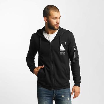 Only & Sons Hoodies con zip onsCadby nero