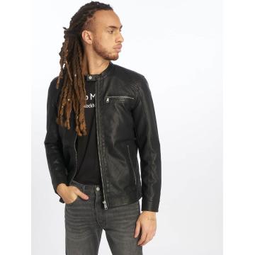Only & Sons Leather Jacket onsKonrad black