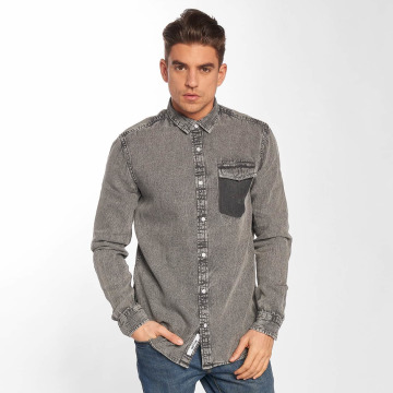 Only & Sons overhemd onsNeville grijs