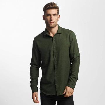 Only & Sons overhemd onsTudor olijfgroen