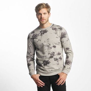 Only & Sons Pullover onsTim Flower Print grau