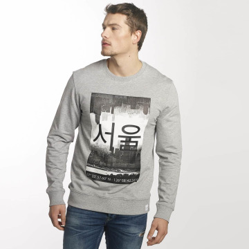 Only & Sons Pullover onsKane Frontprint gray