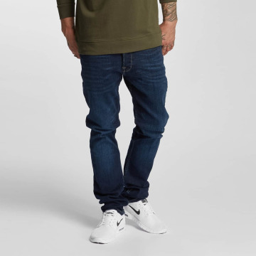 Only & Sons Straight fit jeans onsWeave blauw