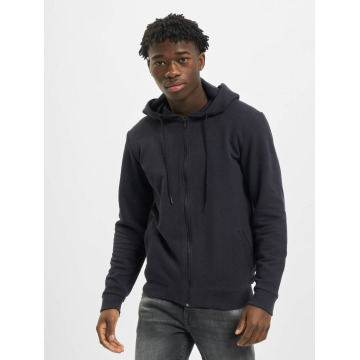Only & Sons Sweat capuche zippé onsNew Finlo bleu
