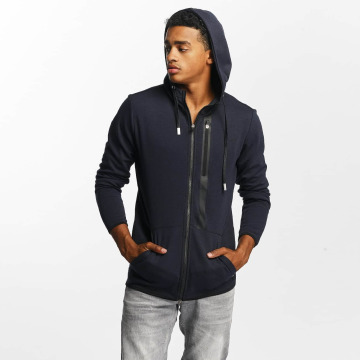 Only & Sons Sweat capuche zippé onsVinn bleu
