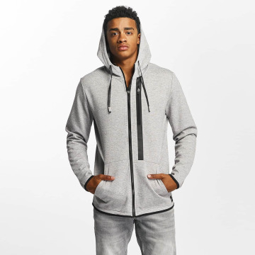 Only & Sons Sweat capuche zippé onsVinn gris