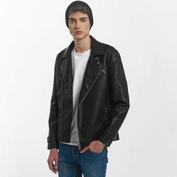 Only & Sons Veste & Blouson en cuir onsKarter Biker noir