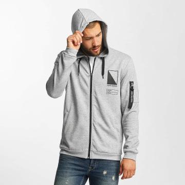 Only & Sons Zip Hoodie onsCadby gray