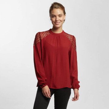 Only Blouse & Chemise onlSonny Lace Bishop rouge