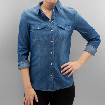 Only Blouse onlRock It blauw