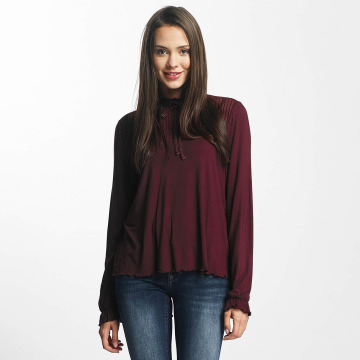 Only Blouse/Tunic onlNiella Loose Mesh red