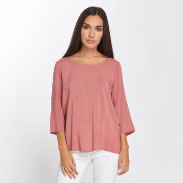Only Blusa / Túnica onlFirst 3/4 Fold Up rosa