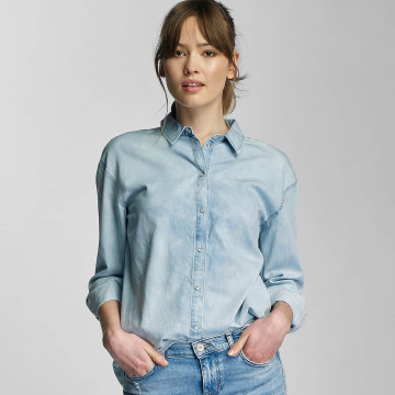 Only Bluse OnlLaura blau