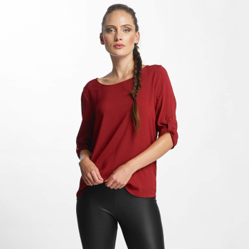 Only Bluzka/Tuniki onlFirst 3/4 Fold Up czerwony