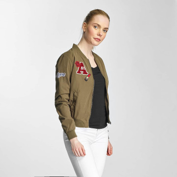 Only Bomber jacket OnlJennie olive