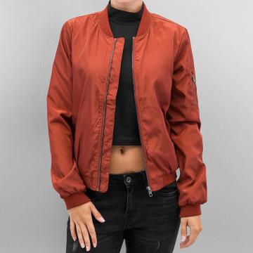 Only Bomber jacket onlLinea Nylon Short red