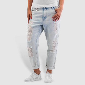 Only Boyfriend Jeans onlTonni Denim Bleach blue