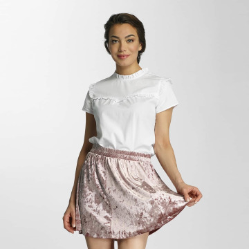 Only Camicia/Blusa onlOzzy Small Frill bianco