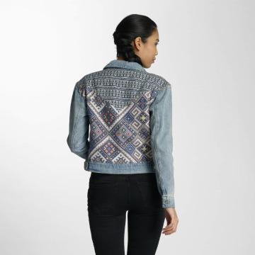 Only Denim Jacket onlChris Blanket blue