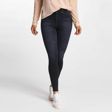Only Jeans de cintura alta onlPosh High Waist azul