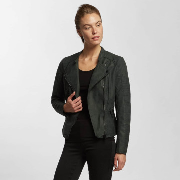 Only Leather Jacket onlAva Faux Leather black