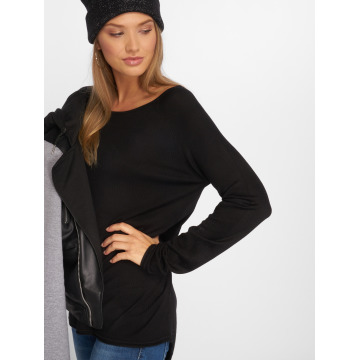 Only Maglia onlMila Lacy Long nero