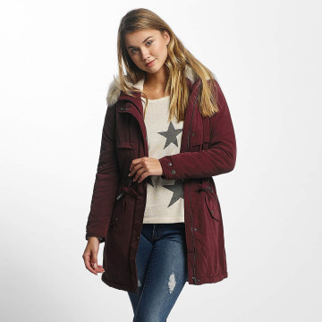 Only Manteau hiver onlStarlight rouge