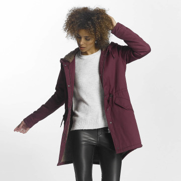 Only Manteau hiver onlFavourite rouge