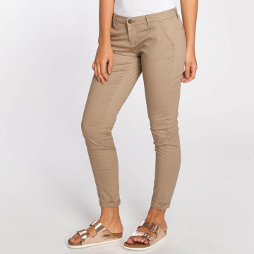Only Pantalon chino onlParis Low Skinny beige