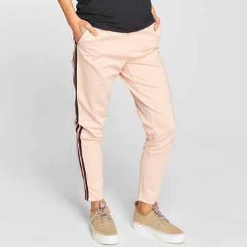 Only Pantalon chino onlPoptrash Stripes rose