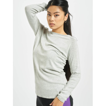 Only Pullover onlMila Lacy Long grau