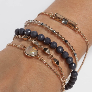 Only Pulsera onlBetty 5 Pack gris