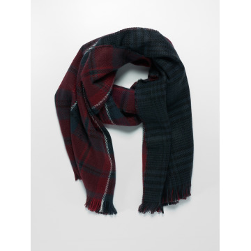 Only Scarve / Shawl onlOfaith Doublesided Check red