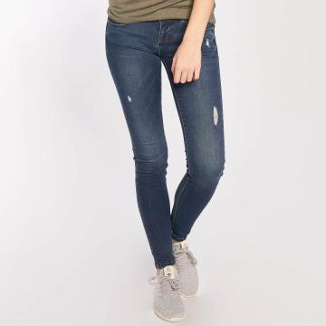 Only Skinny Jeans Coral Superlow blå