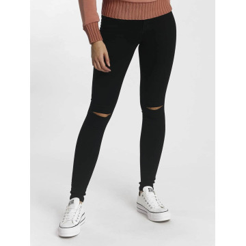 Only Skinny jeans Royal Regular Kneecut svart
