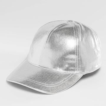 Only Snapback Cap onlDallas PU silberfarben