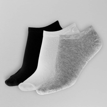 Only Socken onlLulu Basic Low Ankel 3-Pack grau
