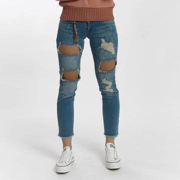 Only Straight Fit Jeans onlJulie Slim Ankle blau
