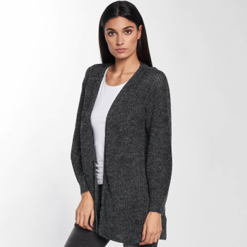 Only Strickjacke onlMonika Long grau