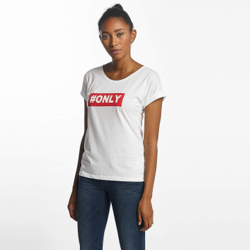 Only T-Shirt onlTruly blanc