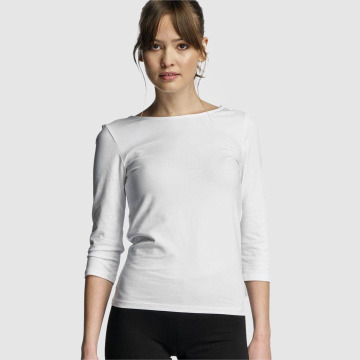 Only T-Shirt manches longues onlLive Love blanc