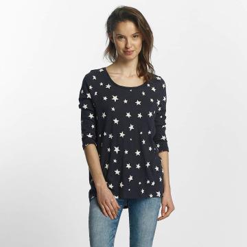 Only T-Shirt manches longues Casa 3/4 bleu