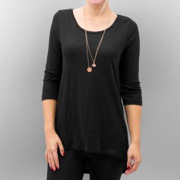 Only T-Shirt manches longues onlCasa Button noir