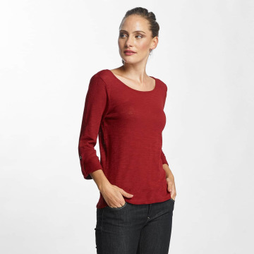 Only T-Shirt manches longues onlJess 3/4 rouge