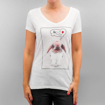 Only T-Shirt onlBone weiß