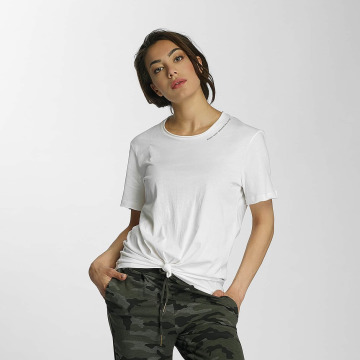 Only T-Shirt onlSassy Knot weiß