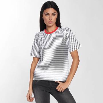 Only T-Shirt onlLive Love Trendy Stripe weiß